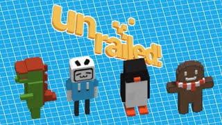 Download lagu 【4人協力】我々くらいになると自分から進んで仕事を探せる【Unrailed!】