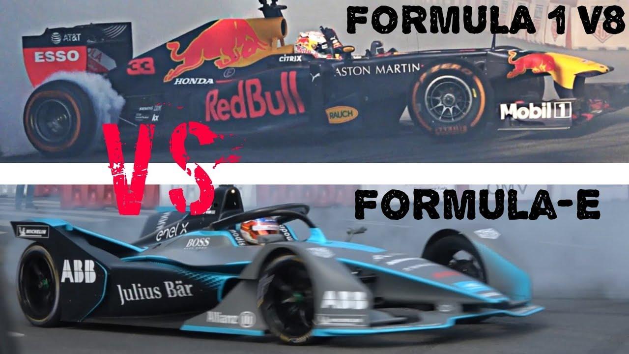 Formula E vs Formula 1 V8 - Nagy Futam 2019 Street Show