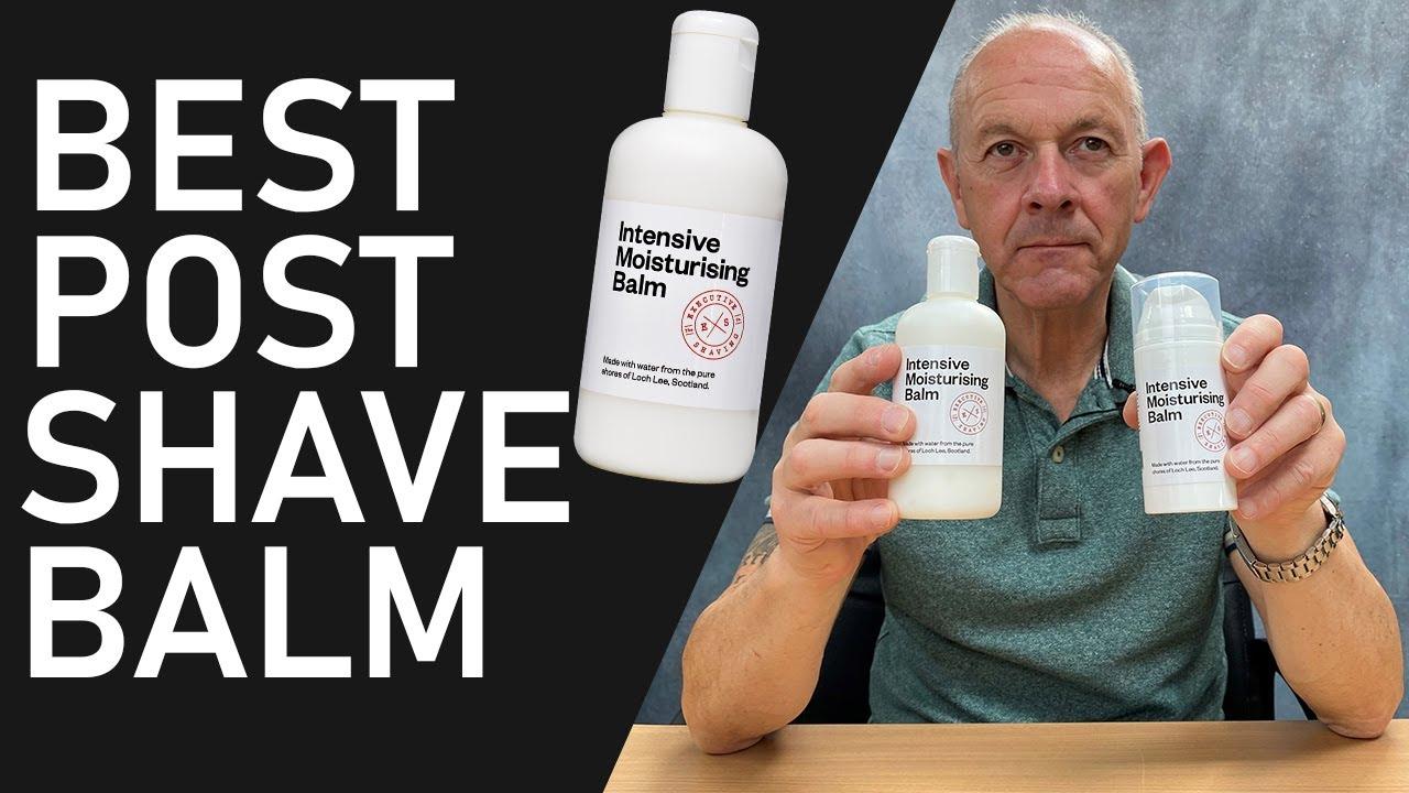 Our New 250ml Intensive Moisturising Balm | Best Moisturiser For After Shaving & Everyday Use