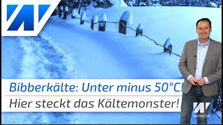 Kältemonster bringt -52°C: Hier liegt der Winter auf der Lauer!