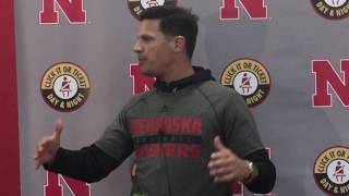 Coach Diaco following Tuesday's practice 3/28/17