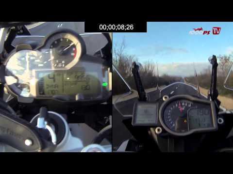 Beschleunigungsduell KTM 1190 Adventure vs. BMW R 1200 GS