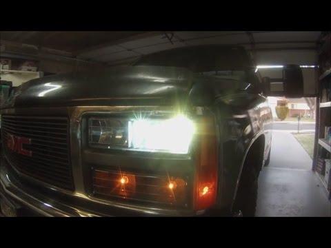 1997 gmc truck headlights