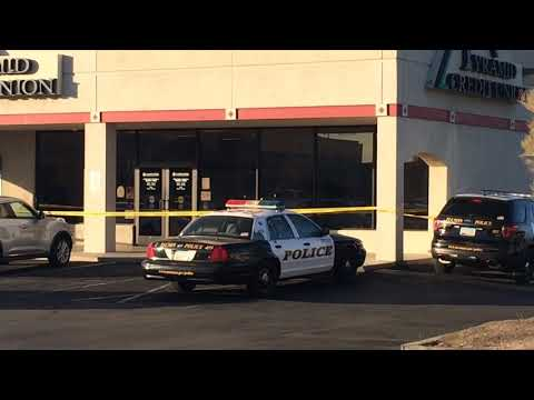 Police situation at Pyramid Credit Union