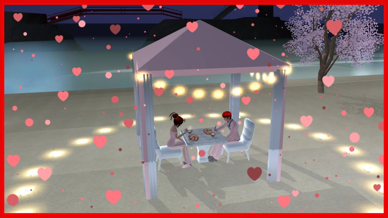 A Romantic Evening || SAKURA School Simulator