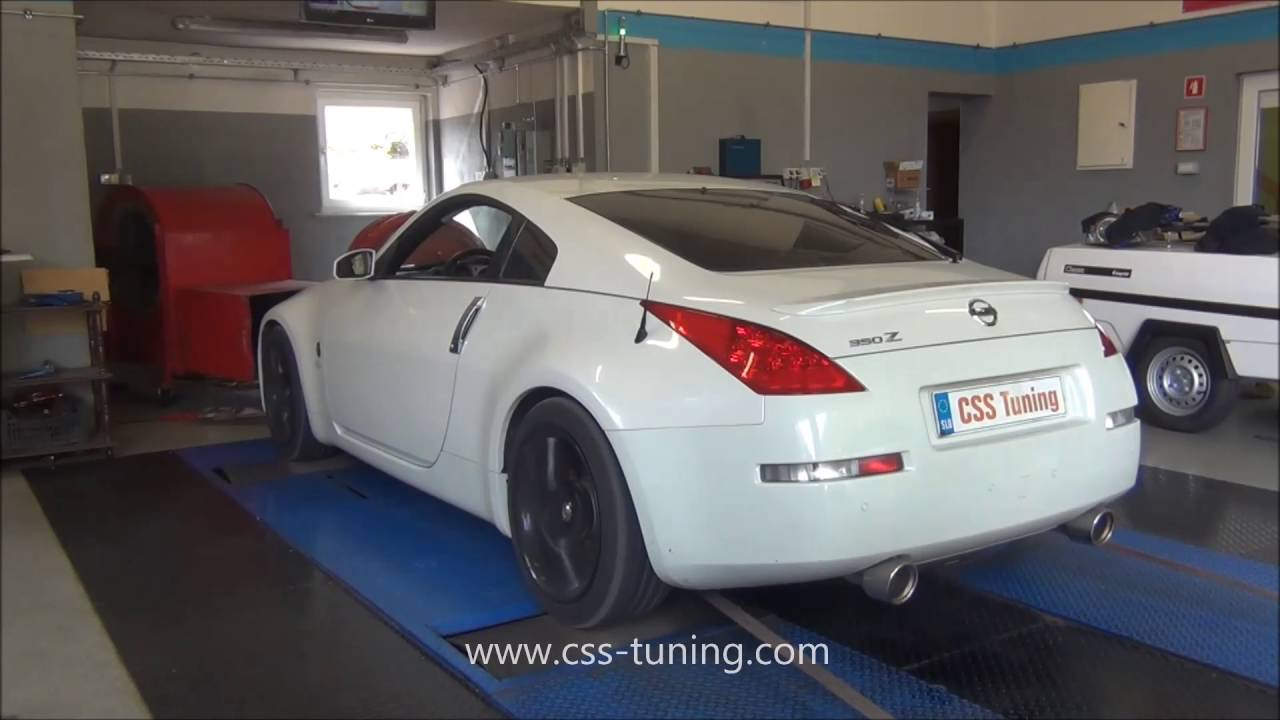 Nissan 350z 313 Hp Stage 1 Chip Tuning