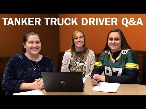 Tanker truck driving jobs Q&A