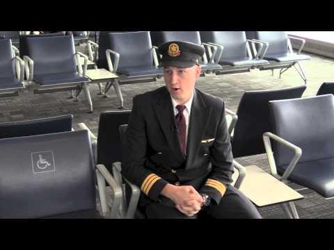 Aviation Management grad Brock Besley