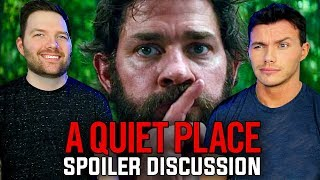A Quiet Place - Discussion Movie Review w/ Chris Stuckmann