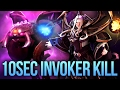 HOW TO KILL INVOKER IN 10 SECONDS - DARK MOON EVENT DOTA 2