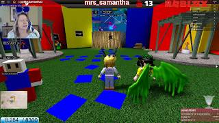 ROBLOX LIVE Mrs. Samantha Time For Obbys! Recorded March 19th