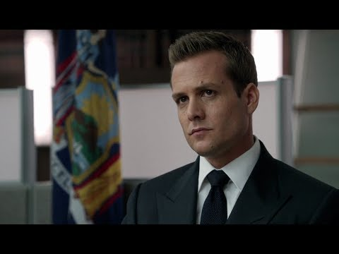 Suits - Season 2 - Episode 7 - Mock trail scene (Harvey Spec