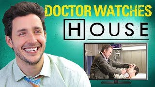 Real Doctor Reacts to HOUSE M.D. | Medical Drama Review | Doctor Mike thumbnail