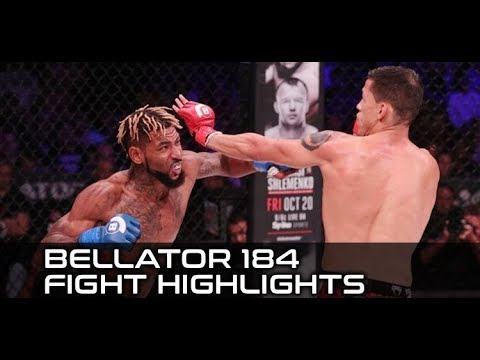 Darrion Caldwell Suplexes Eduardo Dantas, Takes His Belt (Bellator 184 FULL Fight Highlights)