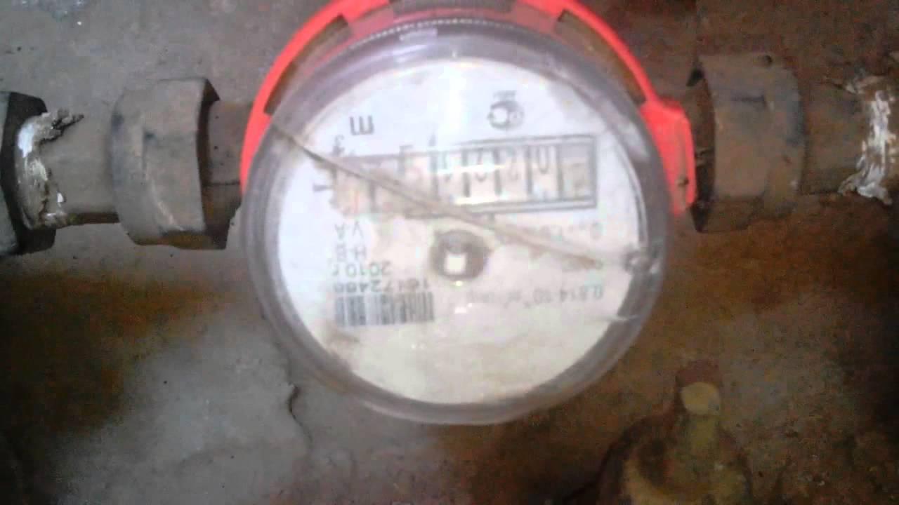 какой магнит надо для остановки водяного счетчика