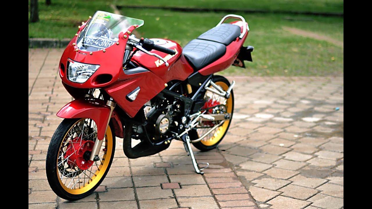 Motor Trend Modifikasi Video Modifikasi Motor Kawasaki Ninja Rr