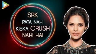 Why Esha Gupta was NERVOUS to Kiss Emraan Hashmi? | Forever Crush- Salman & SRK | Rapid Fire