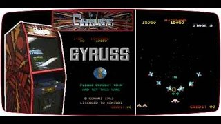 Gyruss arcade Review