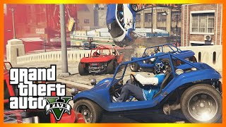 Man Overboard!! - RUNNING BACK Adversary Mode (GTA 5 Online PC)