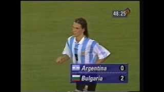 ARGENTINA vs BULGARIA - 1994 FIFA World Cup