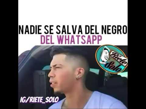 Video de risa 'el negro de whatsapp'