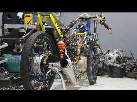 Review Motor Drag SATRIA FU200cc | JUPITER Bebasan | MIO 200CC | GL Bebasan.#PART1