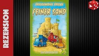 Feiner Sand (Friedemann Friese, 2F Spiele 2018) - Solo-Partie / Rezension