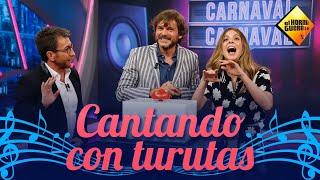 Salva Reina y Manuela Velasco aciertan canciones a la turuta - El Hormiguero