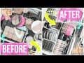 HIGHLIGHTERS | Decluttering & Organizing My Makeup Collection