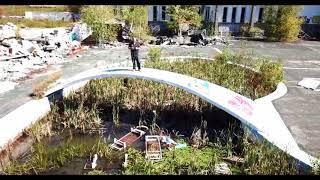 Abandoned Pines resort upstate New York