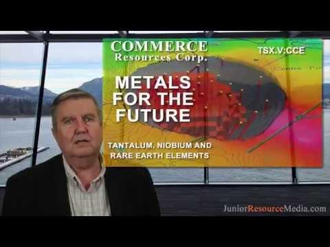 Commerce Resources - Ashram Rare Earth Elements Project