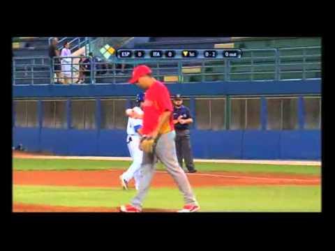 Italian Baseball Week 2012, Italia - Spagna