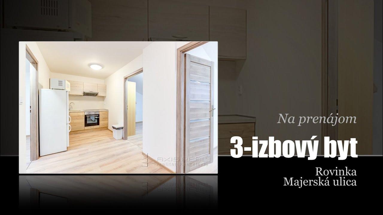 8ccdc4adf TOP Reality - 360° VIRTUÁLNA PREHLIADKA:: 3-izb. PODKROVNÝ byt, NOVOSTAVBA,  PARKING, KLÍMA, Rovinka, Majerská ul.