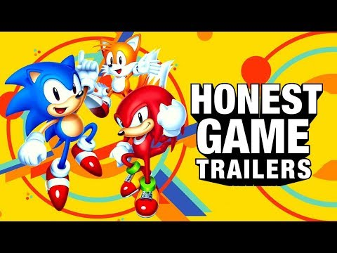 SONIC MANIA (Honest Game Trailers)
