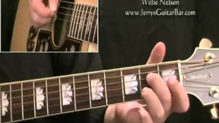 How To Play Willie Nelson My Heroes Have Always Been Cowboys (full lesson)