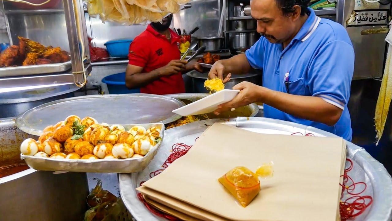 Allauddin's Briyani - MUST-EAT Singapore Indian Food at Tekka Centre!
