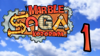 Let's Play Marble Saga: Kororinpa, ep 1: A pleasant world