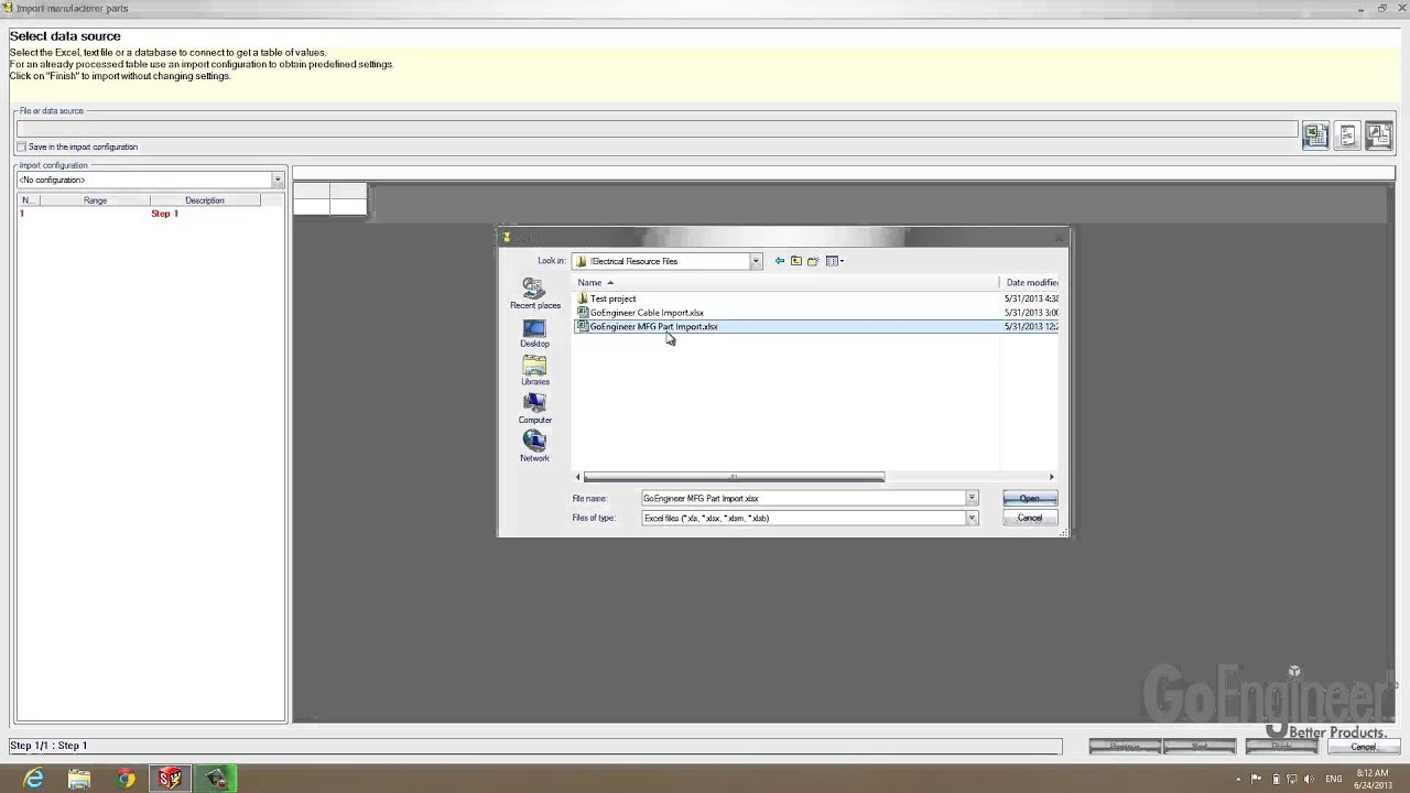 SOLIDWORKS Electrical – How to Create or Import Manufacturing ...
