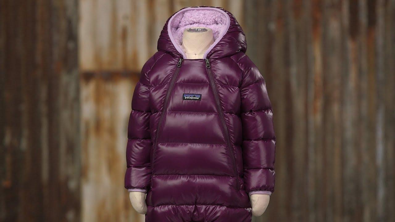 6f0bb49ff Patagonia Baby Hi-Loft Down Sweater Bunting - YouTube
