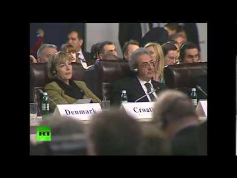Сергей Лавров выступил на заседании ОБСЕ в Киеве