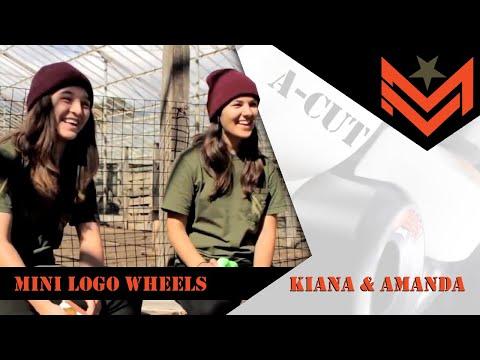 Mini Logo Wheel Review with #23 Amanda and #50 Kiana