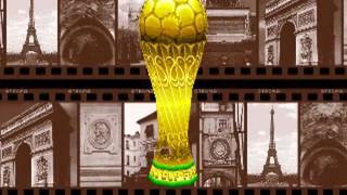 Tecmo World Cup '98 (Tecmo 1998)  Attract Mode 60fps