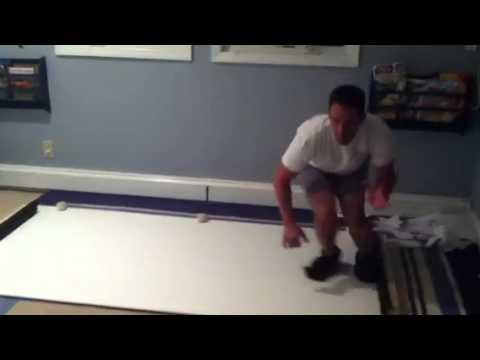 Homemade Goalie Slide Board