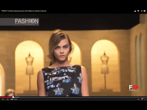 Défilé Fendi Printemps Eté 2015 : Fashion Week de Milan
