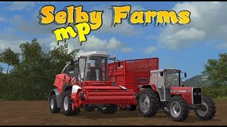 #silage2018 Selby farm Faming Simulator 17