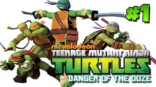 Teenage Mutant Ninja Turtles: Danger of the Ooze - Part 1 (Gameplay, Commentary)