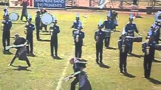 """El Toro High School Royal Blue Regiment- """"Through The Clouds"""" Competition, October 9, 2010"""