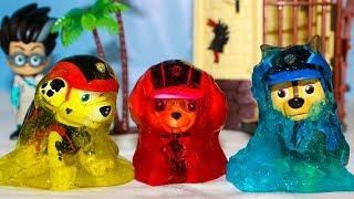 Щенячий патруль новые серии Ромео Заморозил патруль Мультики для детей Игрушки Герои в масках