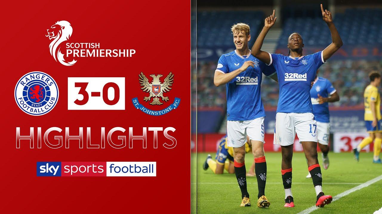 Rangers breeze past St Johnstone | Rangers 3-0 St Johnstone | Scottish Premiership