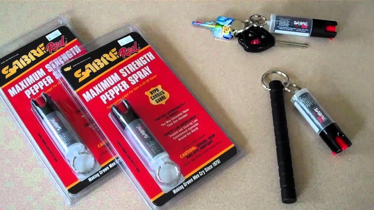 Sabre red maxium strength pepper spray youtube - Pepper sprinkler ...